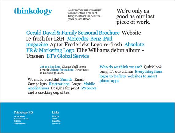 thinklogyのサイトイメージ